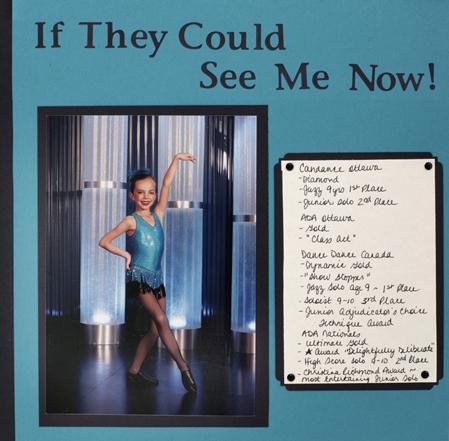 Ottawa scrapbooking  dance school Photography