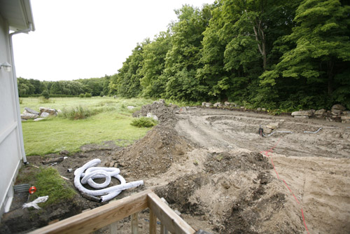 Ottawa Ontario photography - construction of estate outdoor photography studio