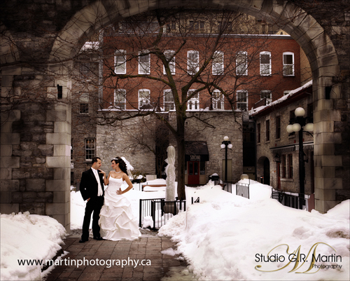 Winter wedding in Ottawa
