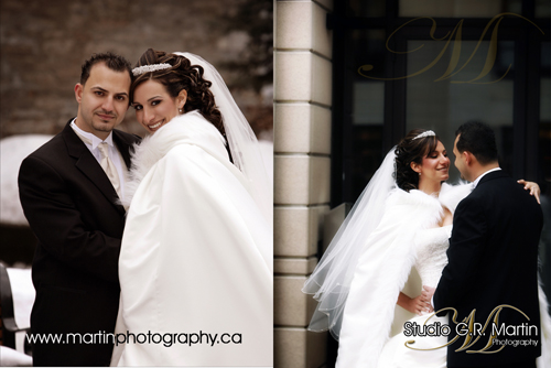ottawa winter wedding photography