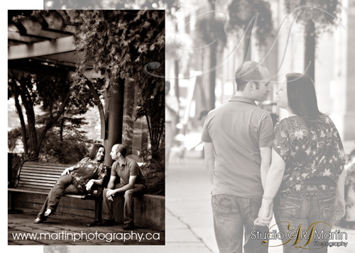 On location Ottawa couple's photography