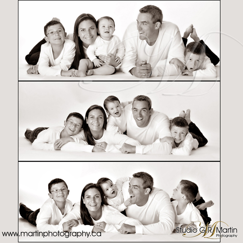 Ottawa in studio family photography