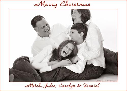 Ottawa christmas portrait photography, christmas cards