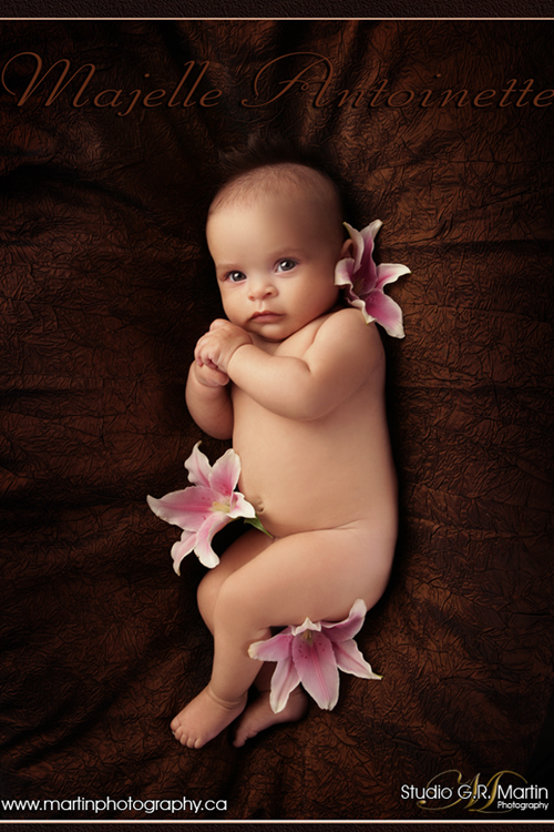 Baby and kids Portrait Photography - Ottawa studio Photography