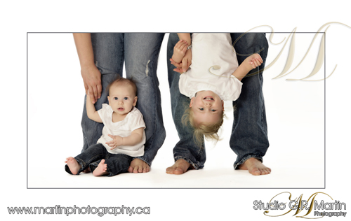 In Studio Baby Portrait - Ottawa Baby, kids and family photography
