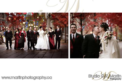 Downtown central Ottawa Fall Wedding photography - Candid Style Ottawa Photographers