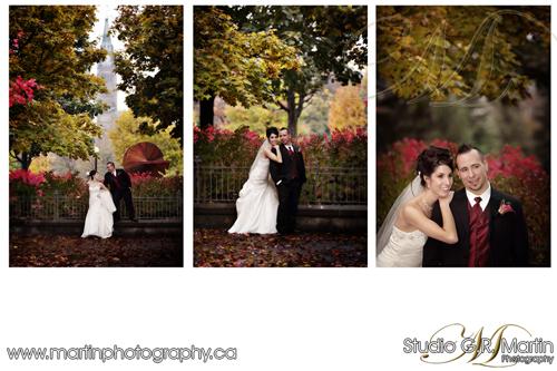Ottawa Fall Wedding Photography - Chateau Laurier Weddings