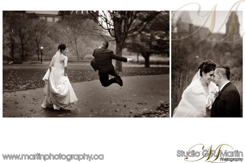 Central Ottawa Fall Wedding Photography - Wedding photographers