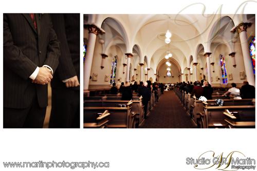 Ottawa Fall Wedding Photography - Orleans Catholic church - Orleans photographers