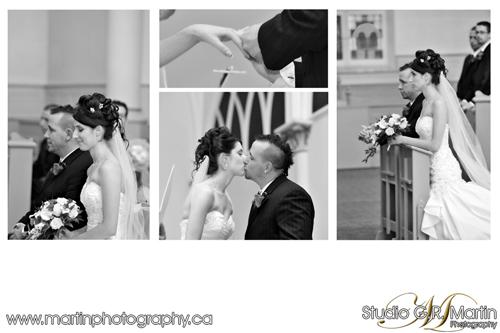 Ottawa Fall wedding photography - Orleans catholic church photographers