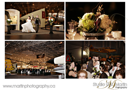 Ottawa Ontario Wedding Photography - Ottawa Photographers - Canadian Aviation Museum