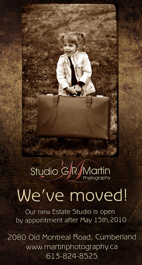 We've moved to our new Estate Studio