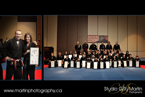 100 % martial art event photography in Ottawa studio G. R. Martin