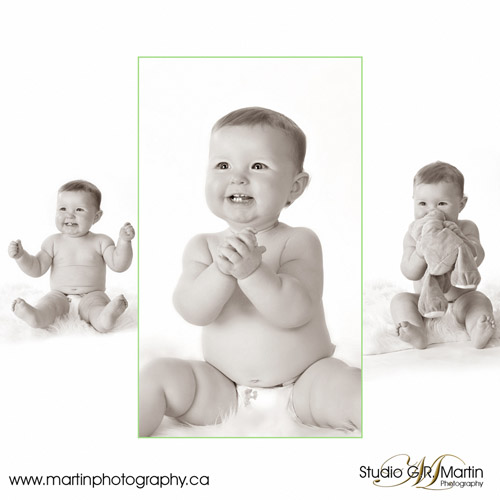 Ottawa, Orleans baby and children photography - Studio family portraits