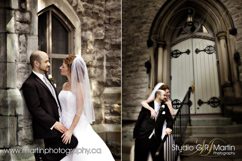Ottawa wedding photographers - Calgary couple in wedding photography