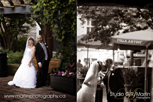 Ottawa wedding photographers - Calgary couple in Ottawa wedding