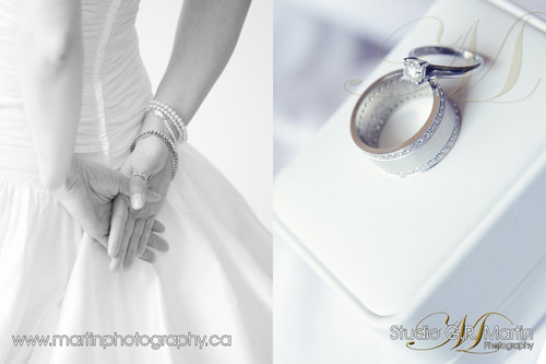 Ottawa wedding photographers - Ottawa courtyard wedding - Tiffany and Co