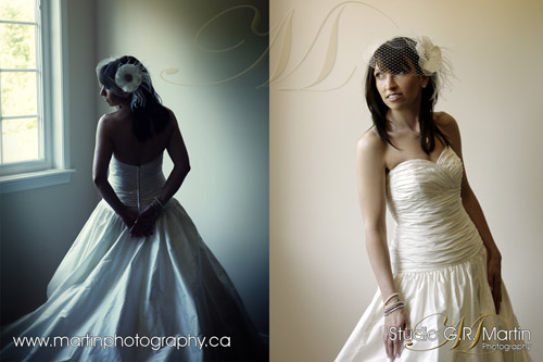 Ottawa wedding photographers - Ottawa courtyard wedding - Sinders Bridal House