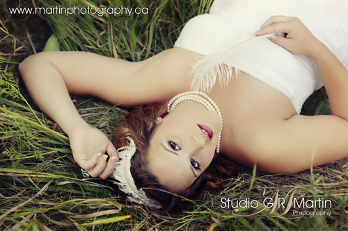 Highschool senior photography - Ottawa fashion photography - Custom made fashion headbands