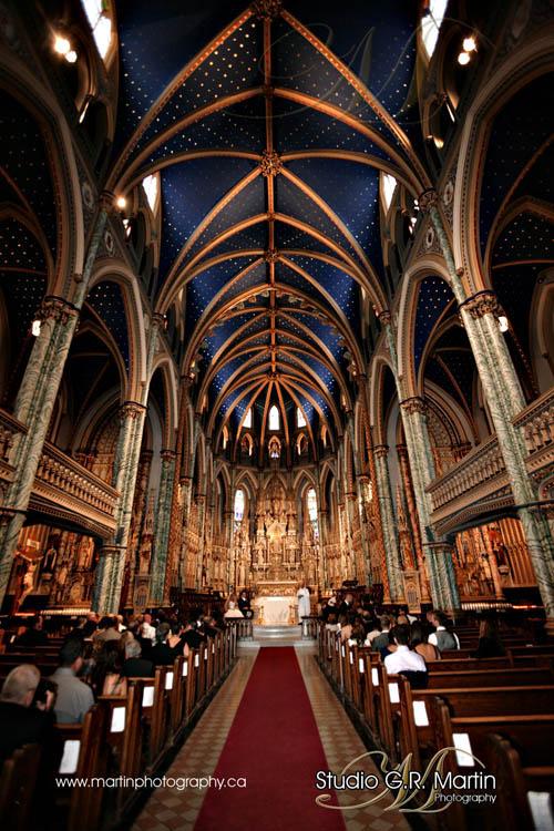 mariage Ottawa, La Cathedrale d'Ottawa, sussex drive