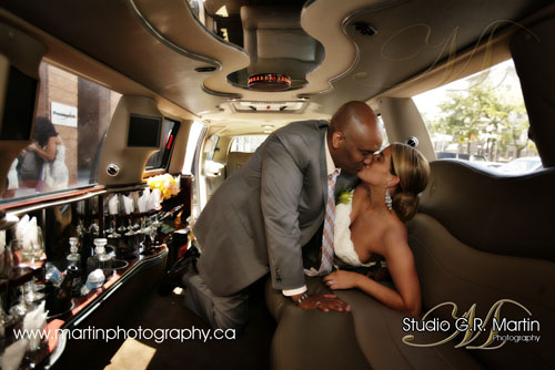 Ottawa wedding photography photographers Robinson limousine photo