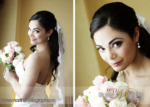 bridal photography session at fairmont chateau laurier in Ottawa ontario