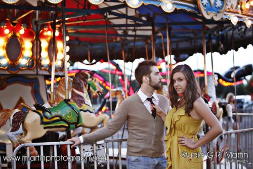 Ottawa Couple Photography - Ottawa Couple Photographers - Ottawa Engagement Photography - Couple Photography At Local Fair