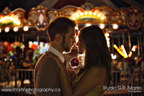 Ottawa Couple Photography - Ottawa Couple Photographers - Ottawa Engagement Photography - Couple Photography At Local Fair