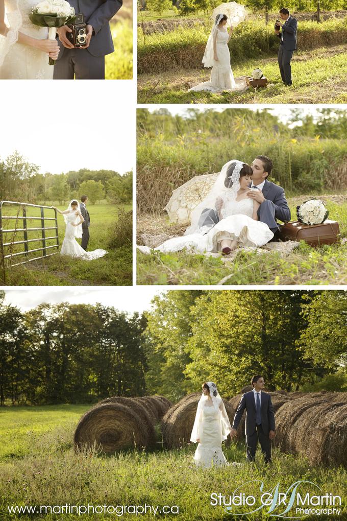 vintage bohemian country ottawa wedding photograpers, Julie Robichaud-Martin & Joelle Martin & Guy Martin Photographer