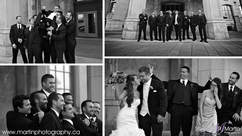 Ottawa Chateau Laurier wedding photos - wedding party