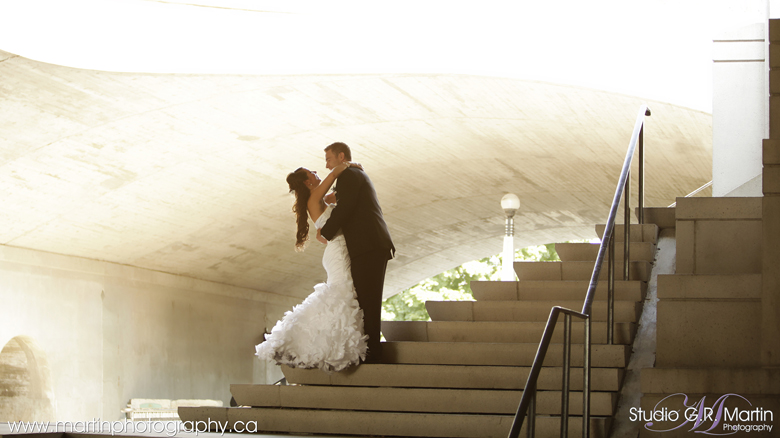 Ottawa rideau canal wedding photos