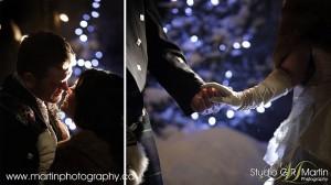 Byward market night winter wedding