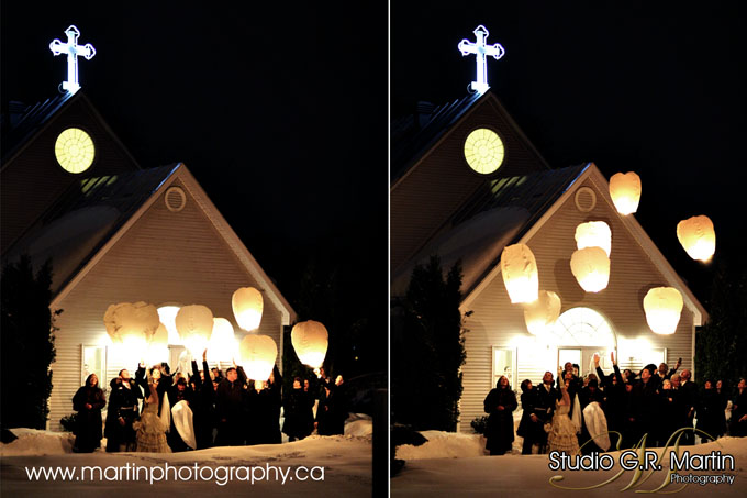 Ottawa ontario canada winter wedding photographers