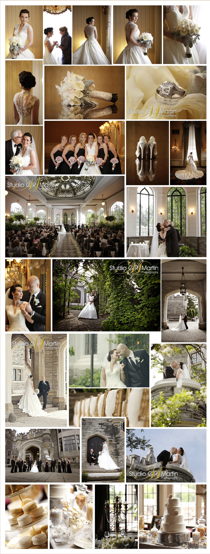 Casa Loma Weddings Studio G.R. Martin Photography Amy and Michael