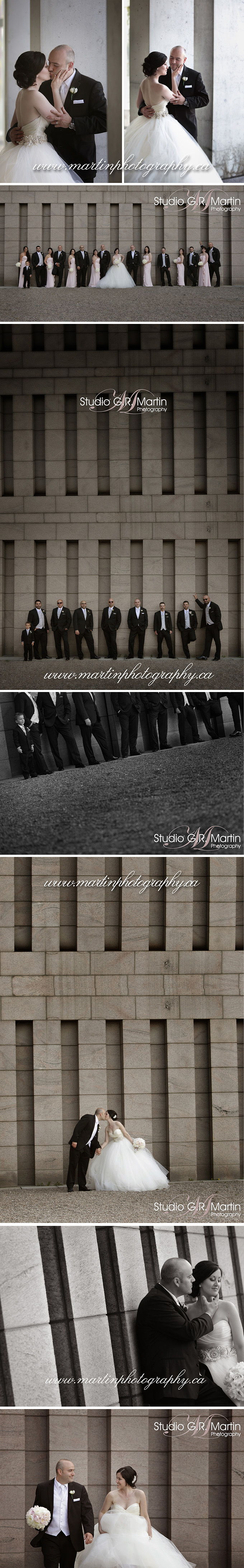 Sala San Marco reception, Italian wedding in Ottawa, Notre-Dame cathedral, Ottawa wedding photographers, lazaro gown, blush wedding, Crab apple Tree, Byward market wedding couple photos, Wedecor