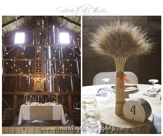 Ottawa country vintage barn wedding venue for rent