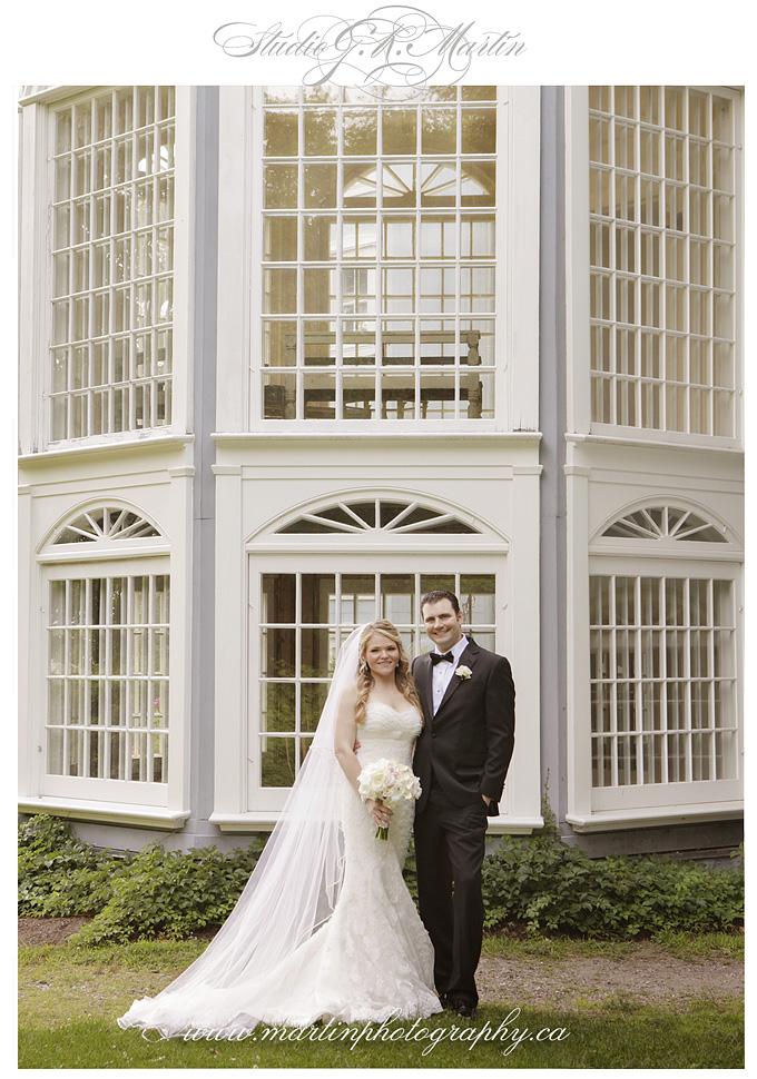 Chateau Montebello wedding - outdoor ceremony