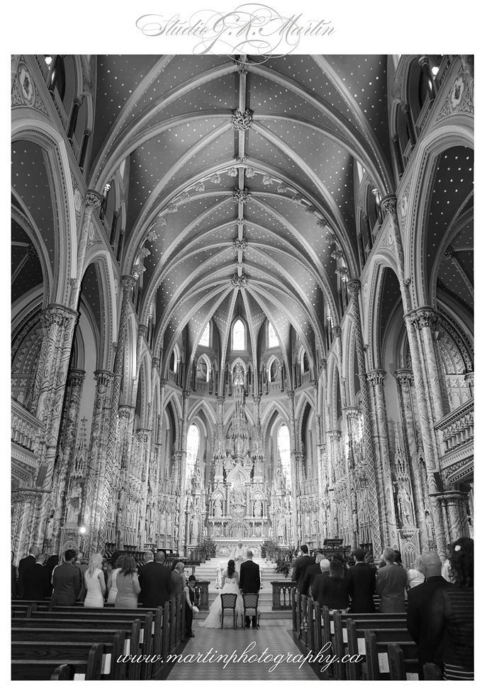 La Cathédrale Notre-Dame/Notre-Dame Cathedral Ottawa Photography Studio G.R. Martin