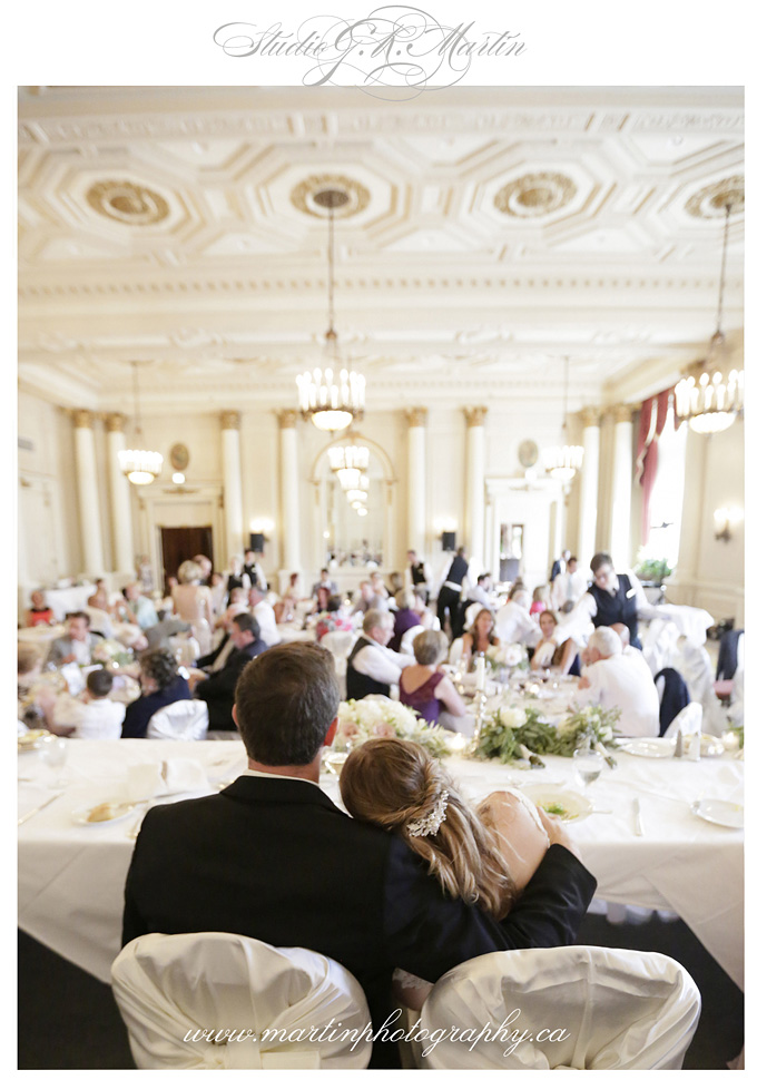 Ottawa wedding photography - Fairmont Chateau Laurier - Studio G.R. Martin- laurier Room