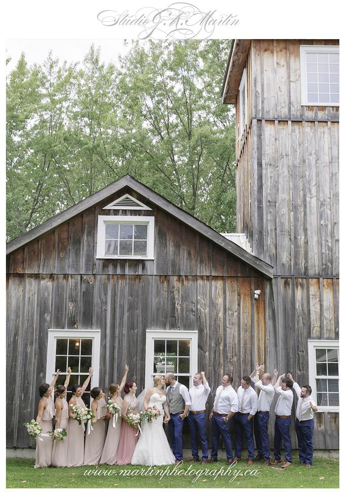 Cumberland-heritage-museum-wedding-Ottawa -wedding Party photography