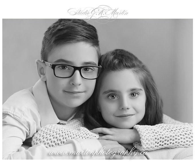 Children Photography Close-Up Studio Portraits Studio G. R. Martin Ottawa Ontario Canada Photographers