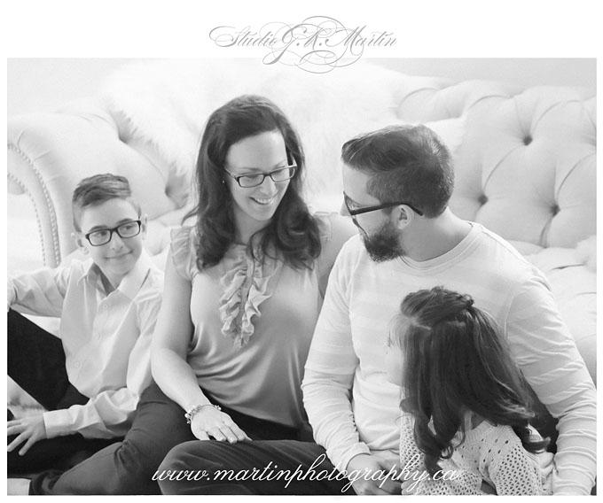 Ottawa portrait and wedding photographer- family photography Studio G. R. Martin Ottawa Ontario Photographers